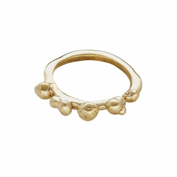 Ripple Bronze Ring