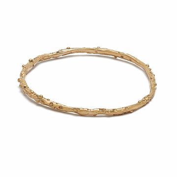 Julie Cohn Design Bronze Caviar Bangle Bracelet