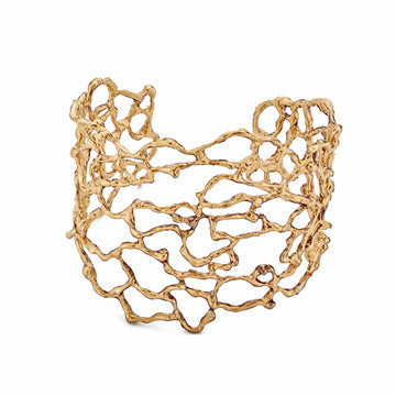 Julie Cohn Design Bronze Sea Flora Cuff Bracelet
