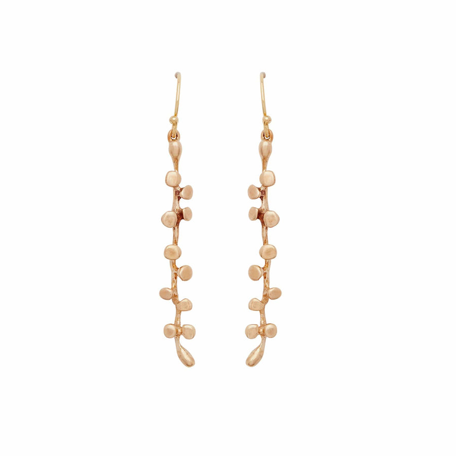 Bronze Eve Drop Earrings Julie Cohn Design