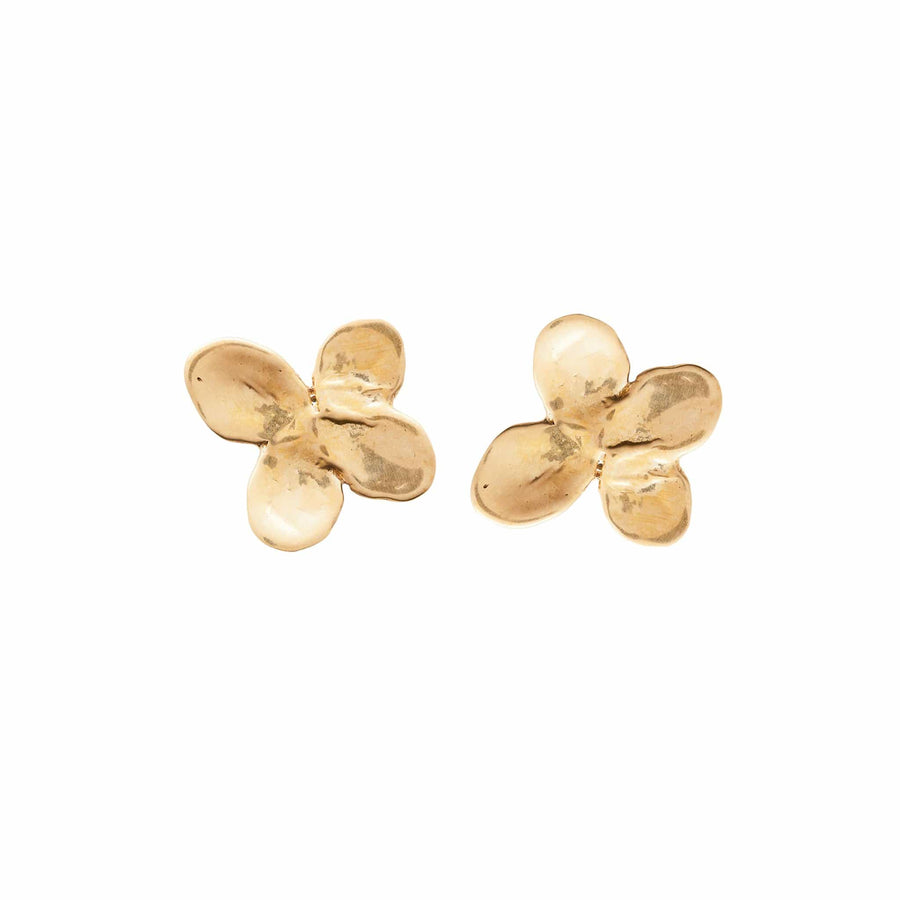 Julie Cohn Design Bronze Hydrangea Earrings