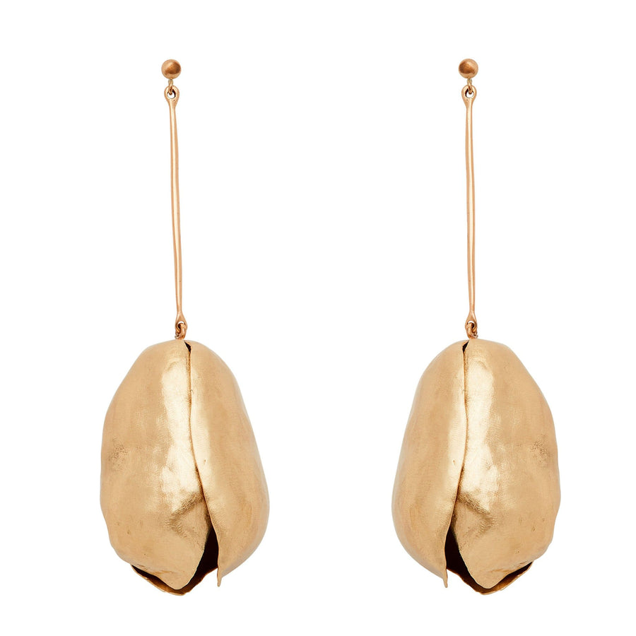 Julie Cohn Design Bronze Tulip Earrings