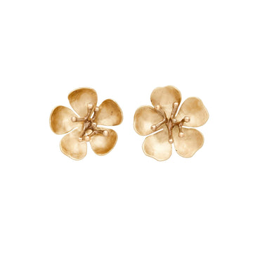 Julie Cohn Design Bronze Cherry Blossom Earring