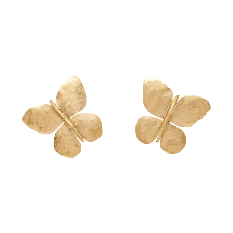 BUTTERFLY BRONZE EARRING