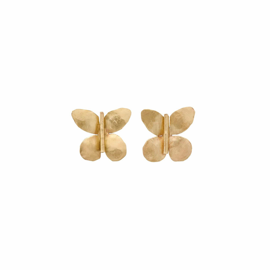Julie Cohn Design Petite Butterfly Bronze Earring