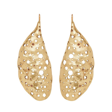 Julie Cohn Design Cocoon Bronze Earring