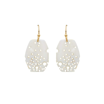 Julie Cohn Design Geo Mother of Pearl Earrings