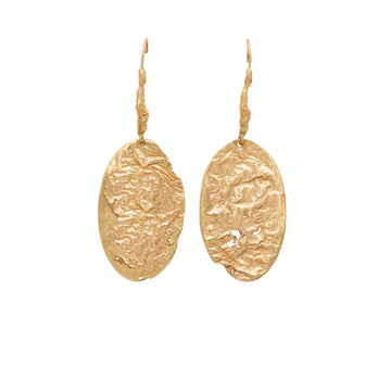 Julie Cohn Design Vesuvio Bronze Earrings