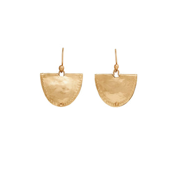 jewelry MEVIA BRONZE EARRING JCE326 Julie Cohn Design Artisan Bronze Jewelry Handmade