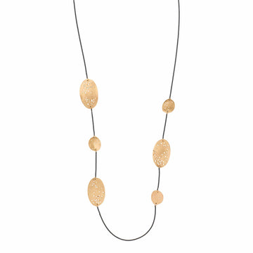 Julie Cohn Design Lucio Bronze Sterling Chain Necklace