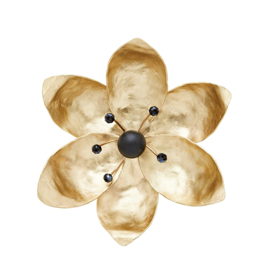 Julie Cohn Design Tulip Magnolia Bronze Pin