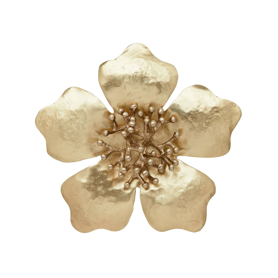 Julie Cohn Design Camellia Bronze Pin