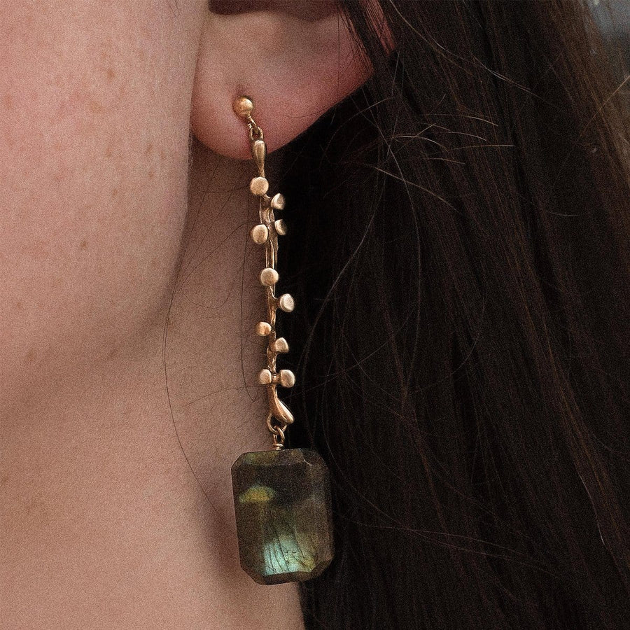 Eve Labradorite Earring - Julie Cohn Design