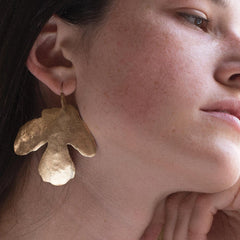 Fig Leaf Earring - Julie Cohn Design