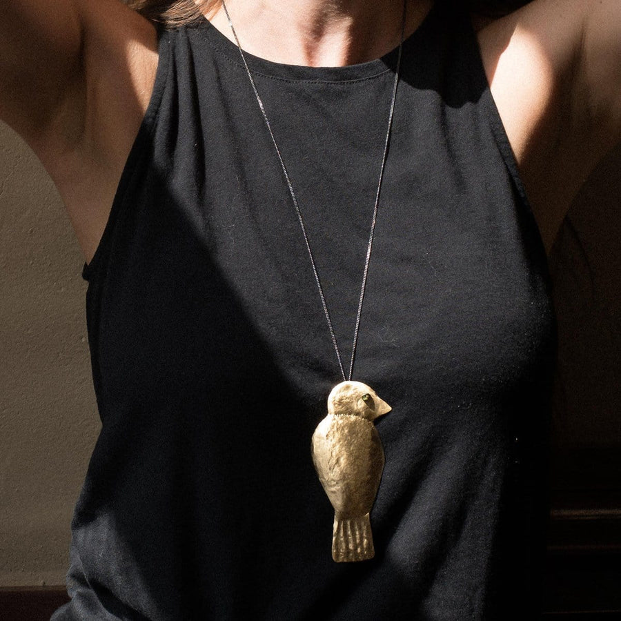 Goldfinch necklace - Julie Cohn Design