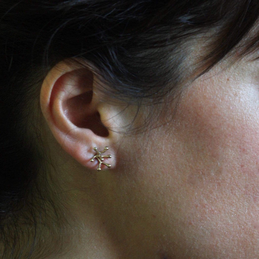 STAMEN BRONZE EARRINGS