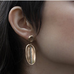 Lega Bronze Earrings - Julie Cohn Design