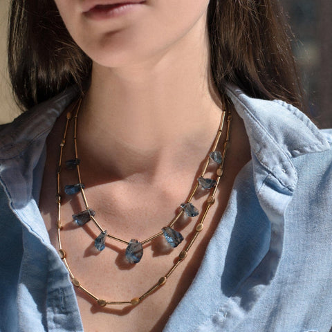 Metro Bronze Necklace