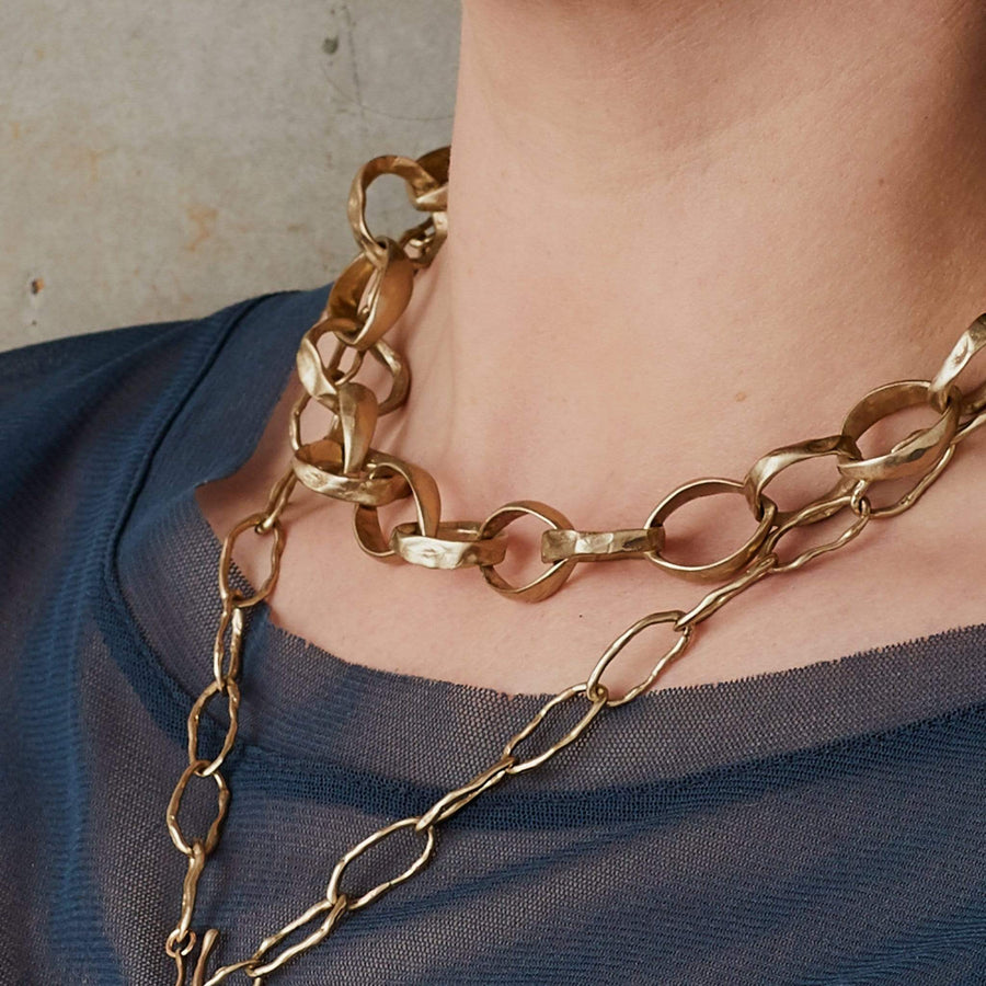ROMAN CHAIN BRONZE NECKLACE