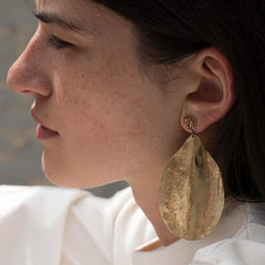 Rose Petal Earring - Julie Cohn Design