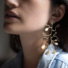Passion Vine Earring - Julie Cohn Design