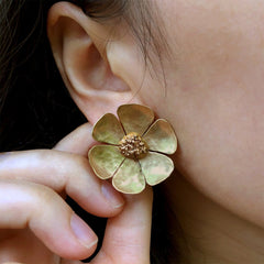 Sunflower Earring - Julie Cohn Design