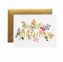 Load image into Gallery viewer, WILD WOOD BIRTHDAY CARD