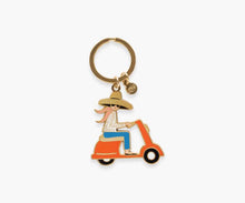 Load image into Gallery viewer, Scooter Keychain