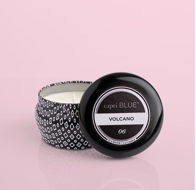VALCANO BLACK MINI TIN 3OZ