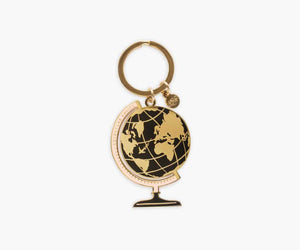 Global Enamel Keychain
