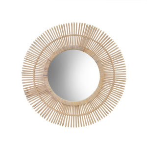 Seaford Bamboo Mirror