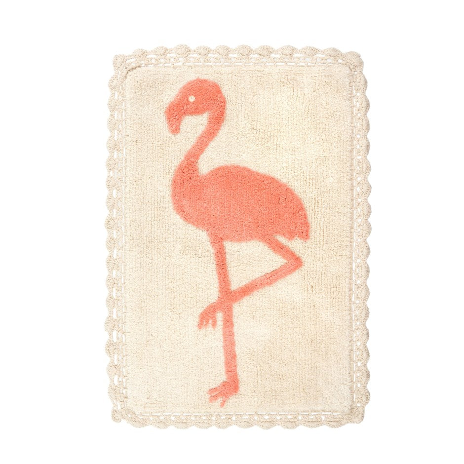 Flamingo Bathmat