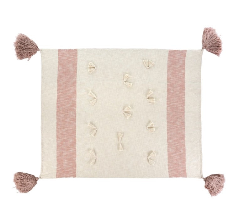 Zahra Throw, Pink