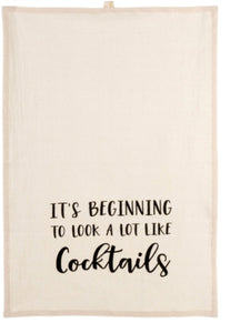 COCKTAILS TEA TOWELS