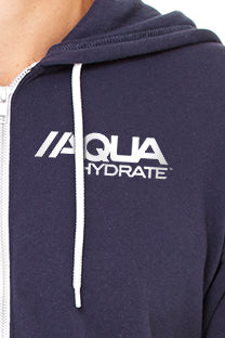 White AQUAhydrate logo