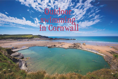 Outdoor swimming in Cornwall