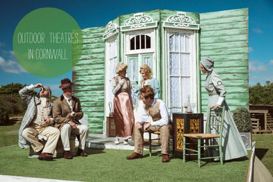 Outdoor theatres in Cornwall