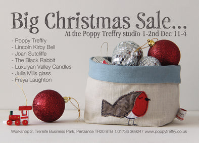 Poppy Treffry Big Christmas Sale