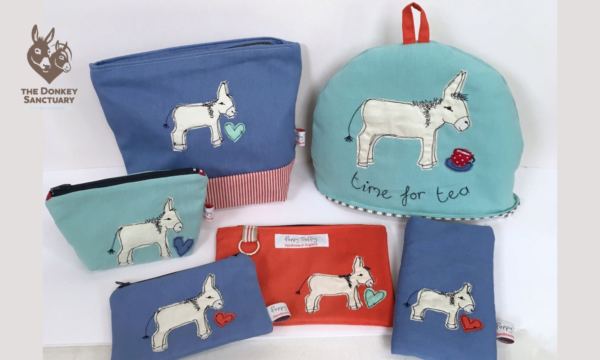Poppy Treffry bespoke collection for the Donkey Sanctuary