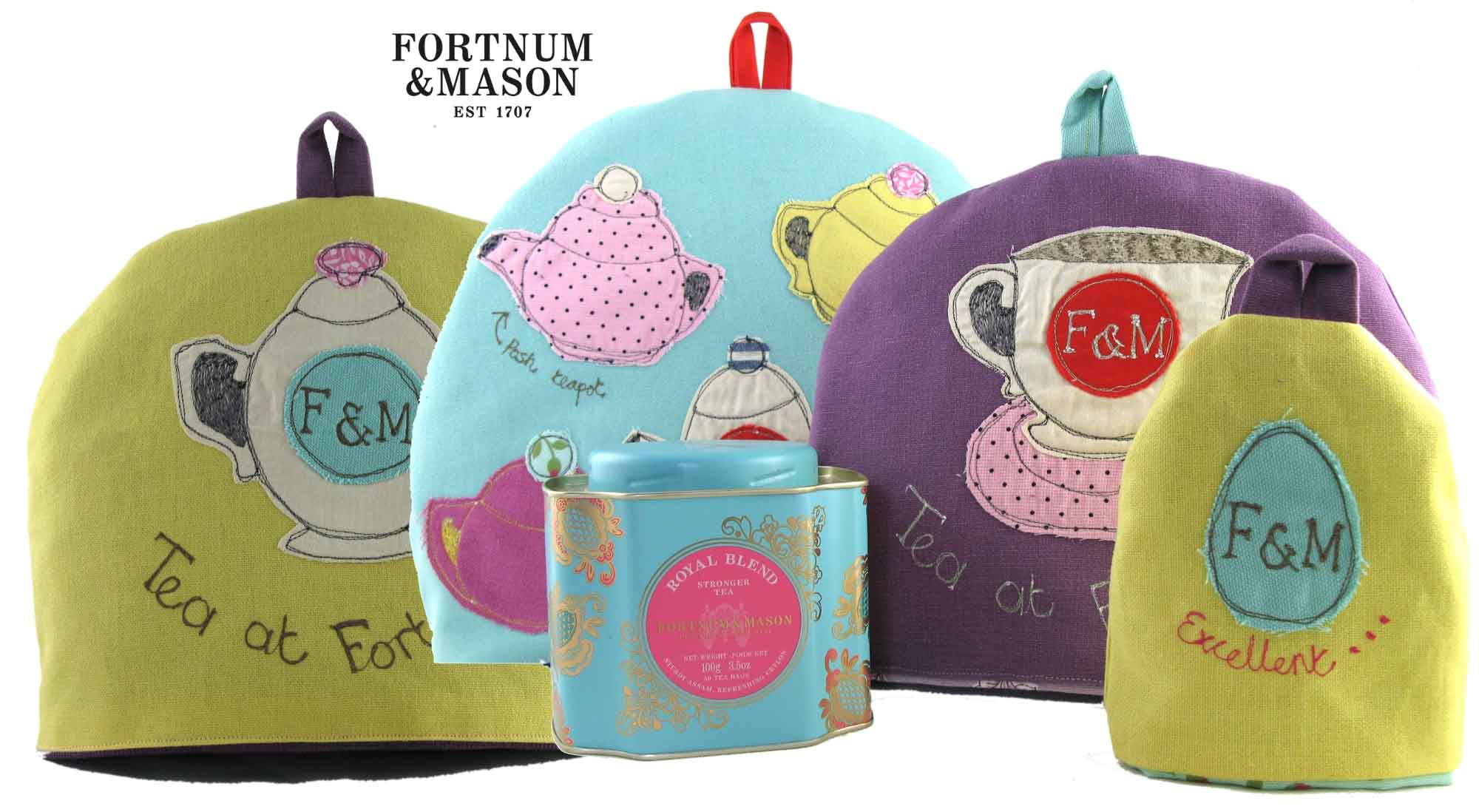Poppy Treffry for Fortnum and Mason