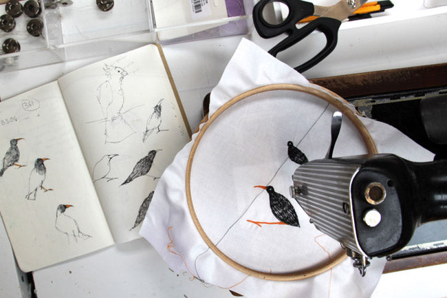 Stitching the choughs