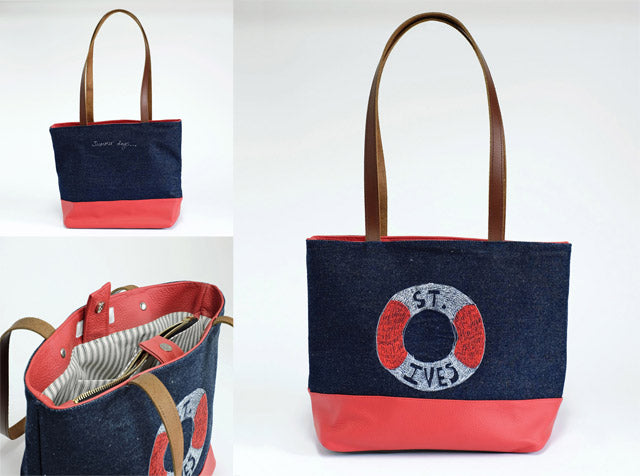 St Ives Sketchbook Tote