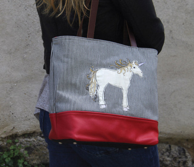 Unicorn Sketchbook Tote