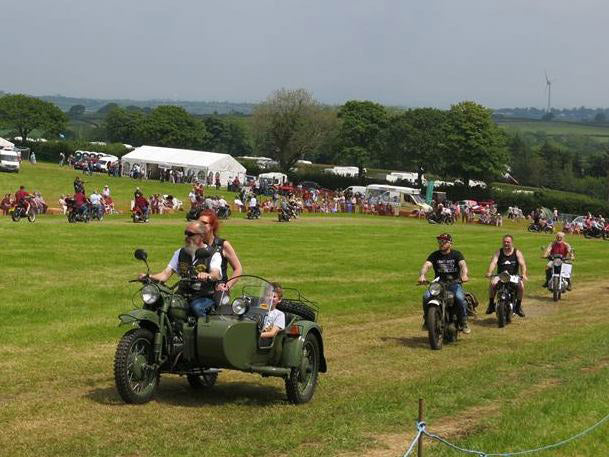 easter egg run davidstow on motorcycles