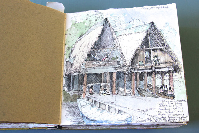 Guatemala sketchbook