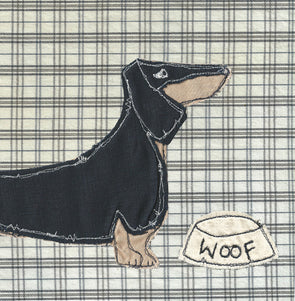 104 - dachshund card