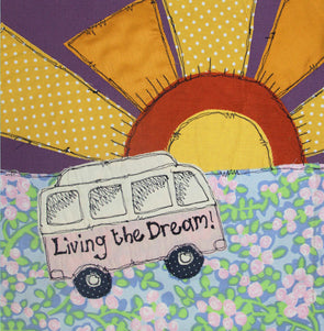 113 - living the dream campervan card