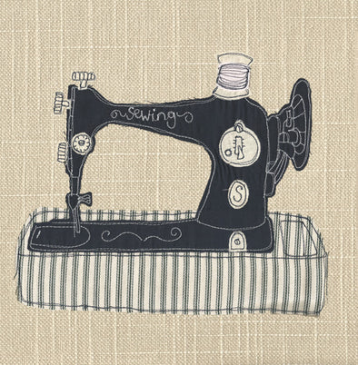 116 - sewing machine card
