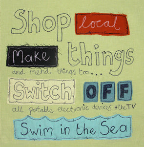 SALE - shop local card (was £2.25)