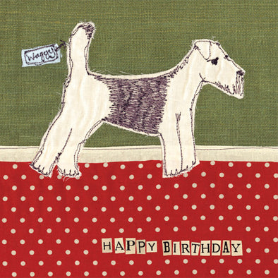 SALE - dog birthday card (was £2.50)